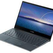 "ASUS ZenBook Flip 13 UX363JA-EM189T - Portátil convertible 13.3"" FullHD (Intel Core i5-1035G4, 16GB RAM, 512GB SSD, Intel Iris Plus Graphics, Windows 10 Home) Gris Pino-Teclado QWERTY español"